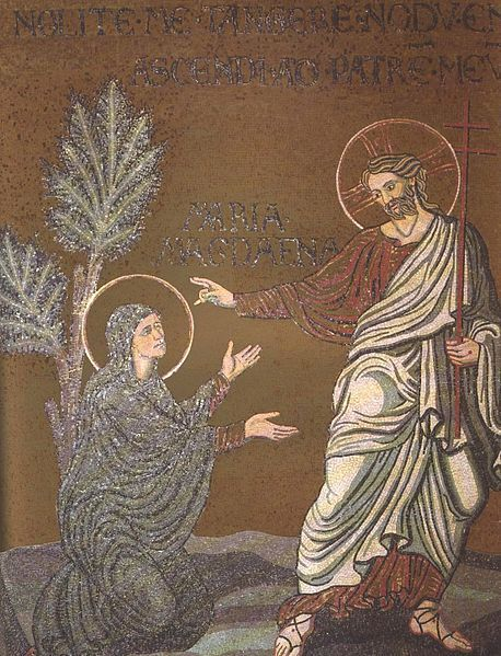 Noli me tangere   Monreale Cathedral, Sicily