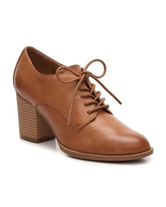 6B4 Cole Haan Slip On Open Toe Brown Elegant Heels Fashion Women Shoes Size 6B