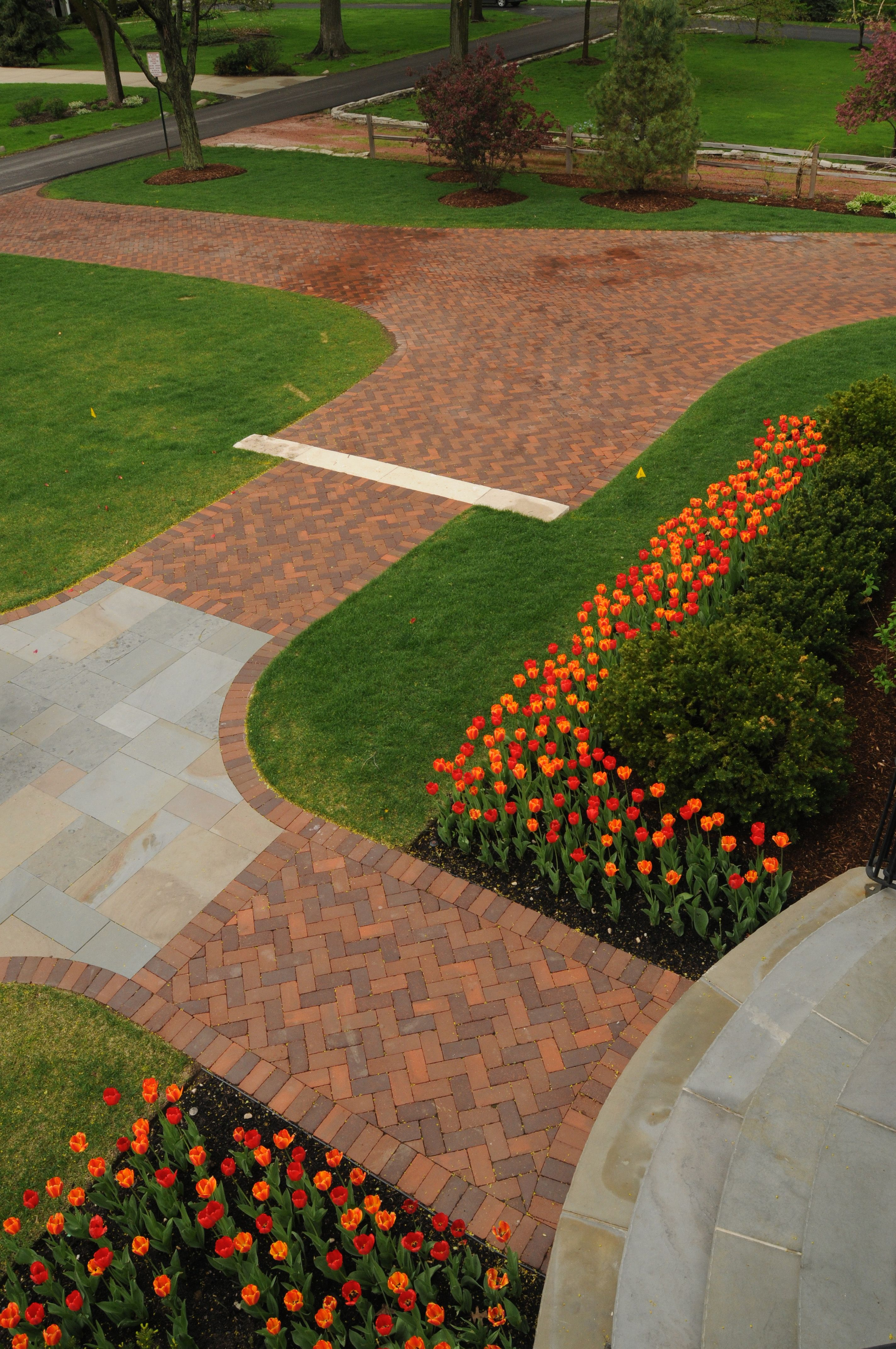 Paver and bluseton front walk by Premier Service   STONE / PAVING ...