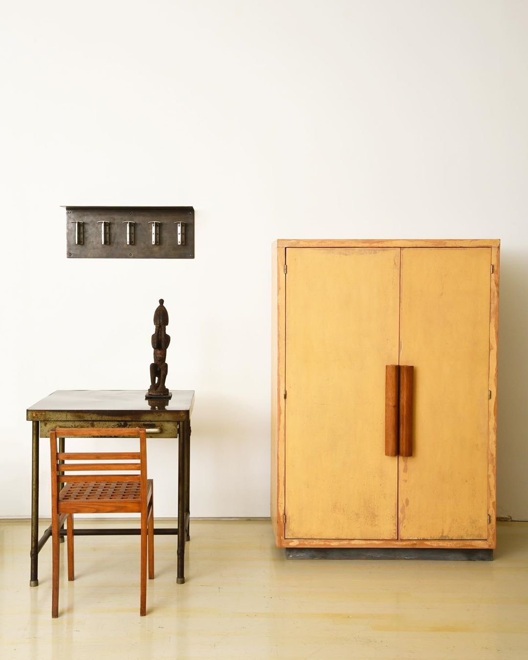 Magen H Gallery On Instagram Friday Afternoon At The Gallery Pieces Are Le Corbusier S Cabinet 1949 52 Rene Gabriel S Sinistre Chair C 1946 Re Magen