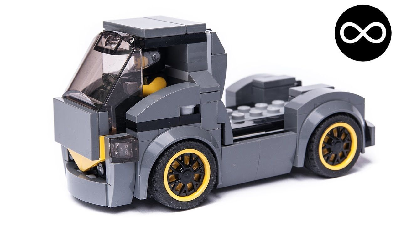 custom truck made from the lego speed champions 75877. Black Bedroom Furniture Sets. Home Design Ideas