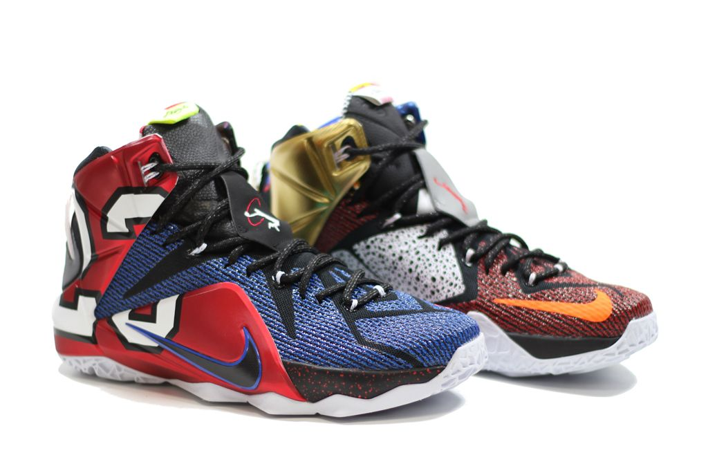 The 'What The' Nike LeBron 12 Releases This Weekend | Solecollector