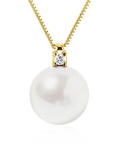 f1507f02ada5 So Fine Pearls Conjunto de cadena y colgante oro 18 ct