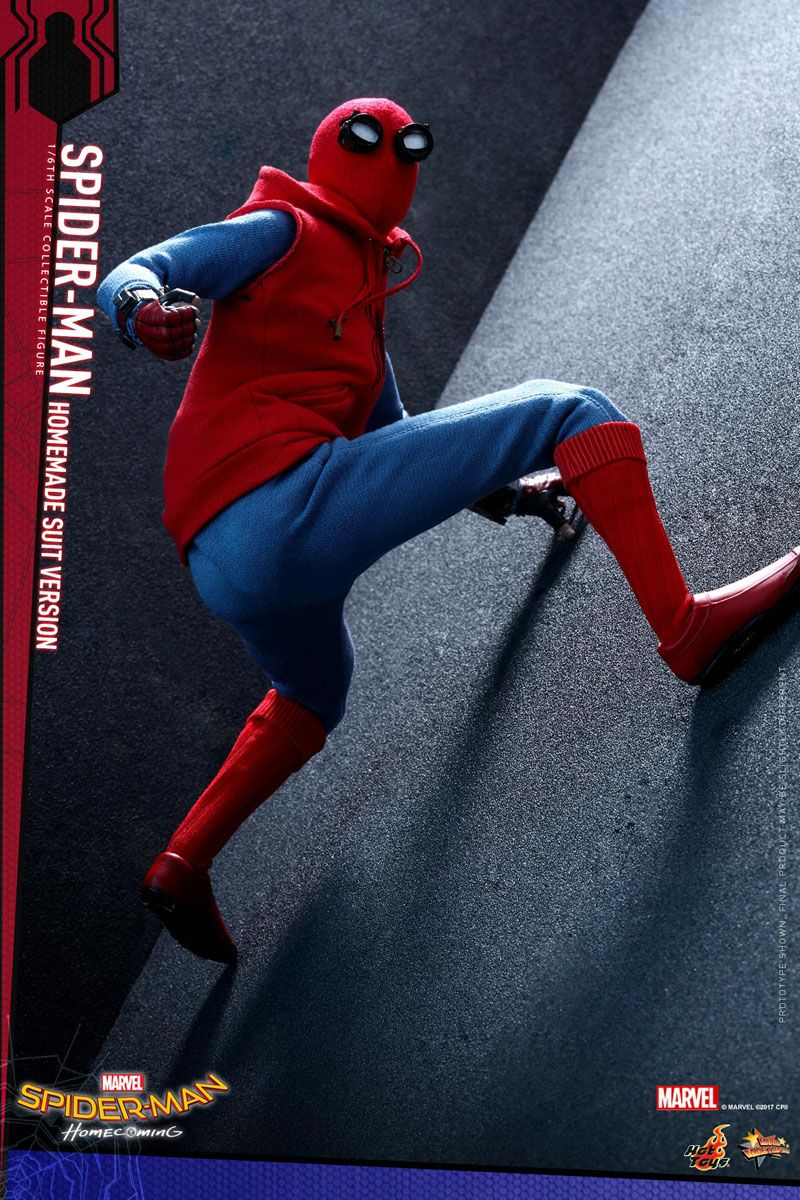 Spider Man Homecoming Hot Toys Homemade Suit Collectibles Figures