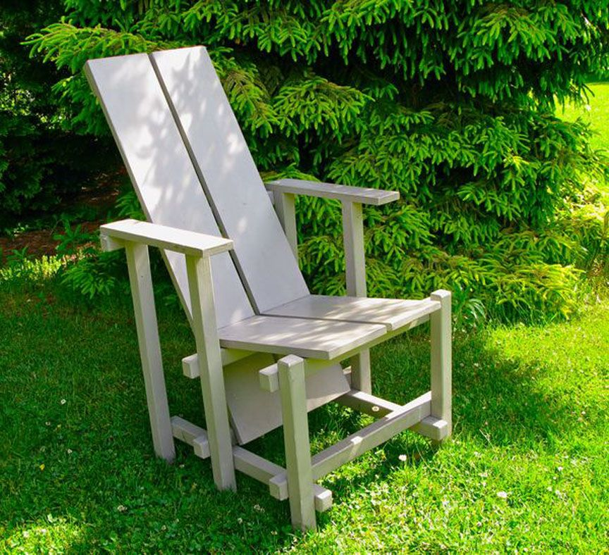 Wave hill chair plans bronx ny botanical gardens for Pinterest diy outdoor furniture