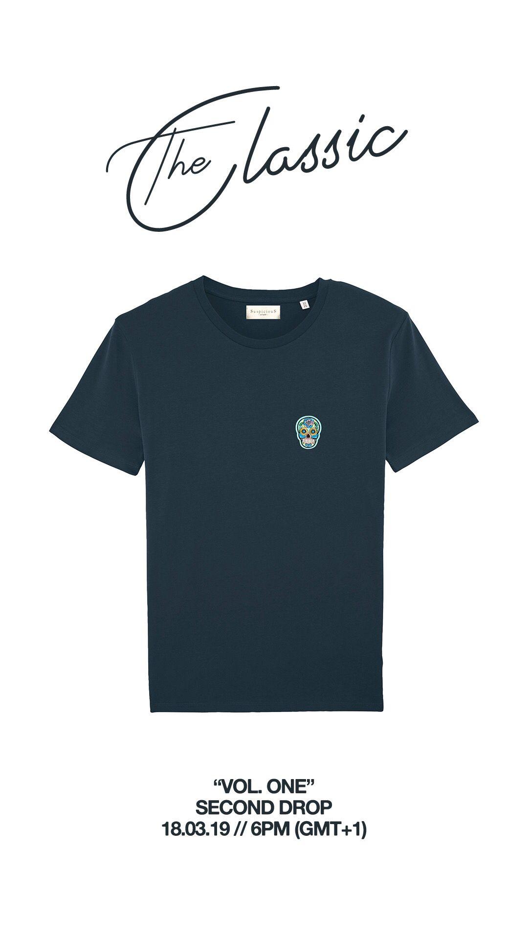 The Classic Shirt Vol One Navy Sky Blue Suspicious Antwerp Classic Shirt Shirts Hoodie Design