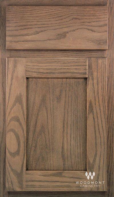 Woodmont Cabinet In Frankfurt Oak Oyster Reverse Panel Slab Door