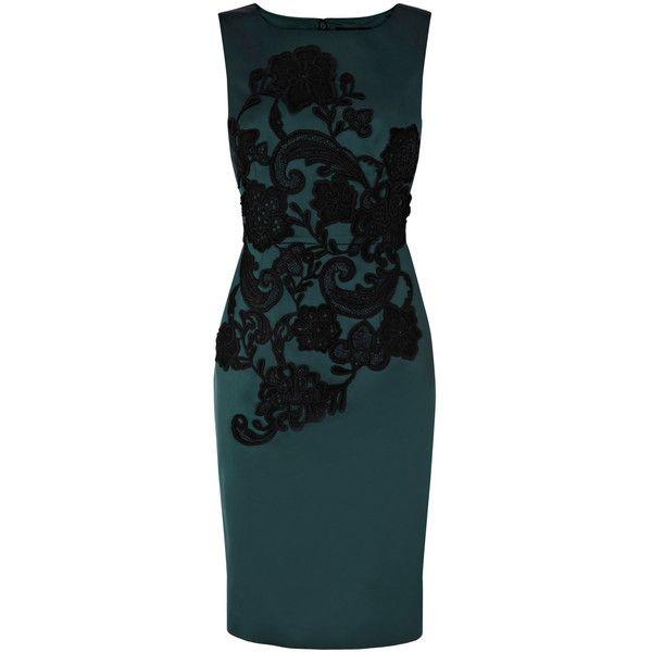 b4264323c0d5 Coast Arples Embellished Dress ($135) ❤ liked on Polyvore | My ...