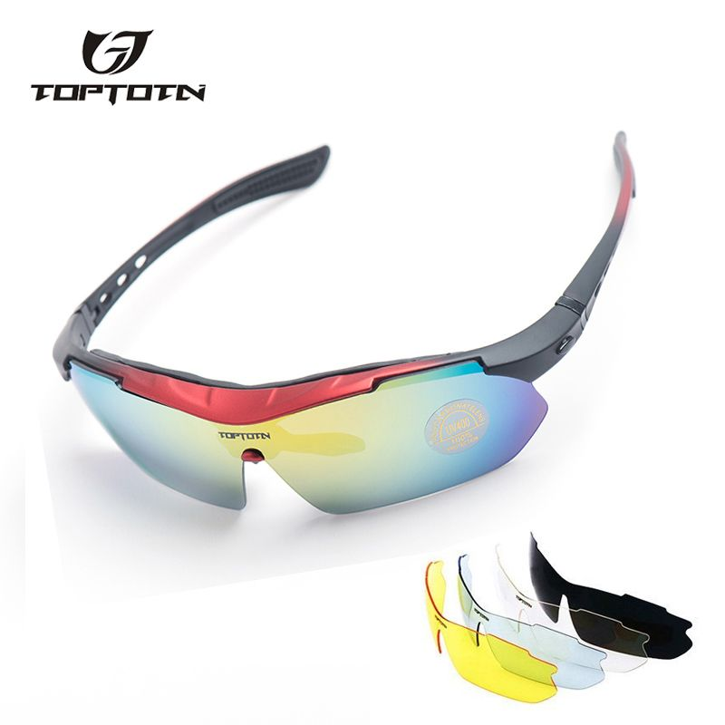021ce63453f sale 2017 brand rushed outdoor cycling sunglasses polarized bike glasses 5  lenses mountain bicycle  sunglass
