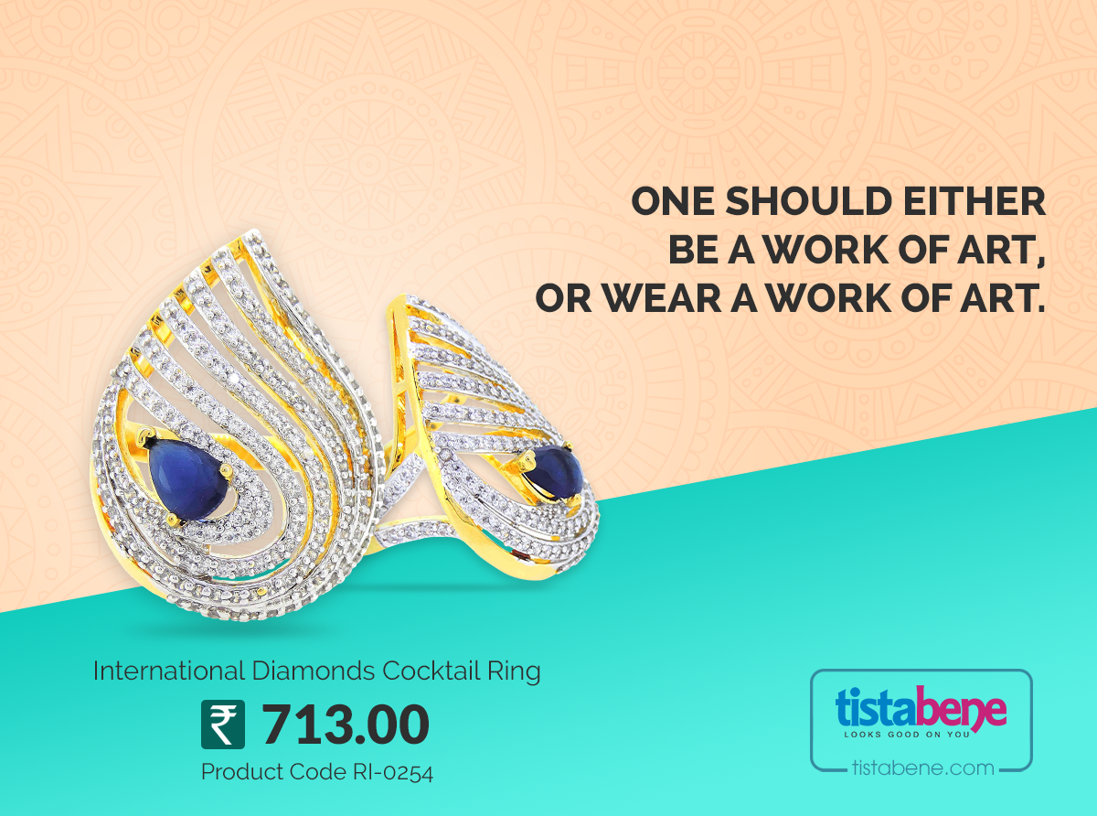 Show Your Jewellery Love. Tistabene To Buy Online Visit :- http://bit.ly/2jbm6SB #Designs #Lovely #Jewellery #Rings #Tistabene