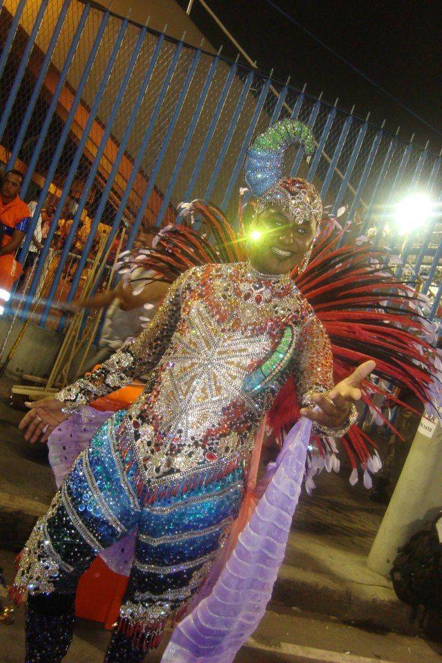 Mestre Sala Rio de Janeiro Brazil 2013 Carnival