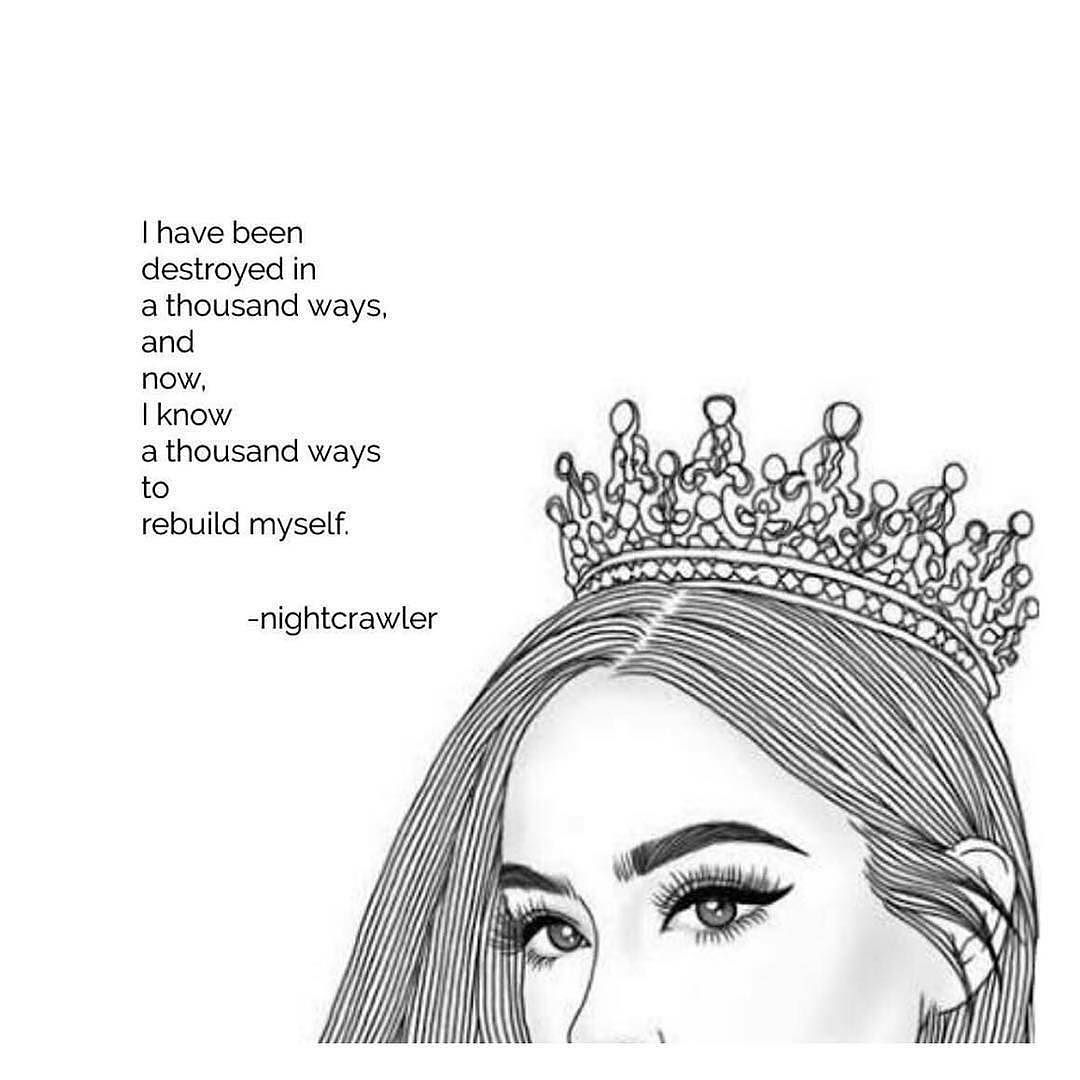 Repost words_with_queens Queen by wordsfornightcrawlers