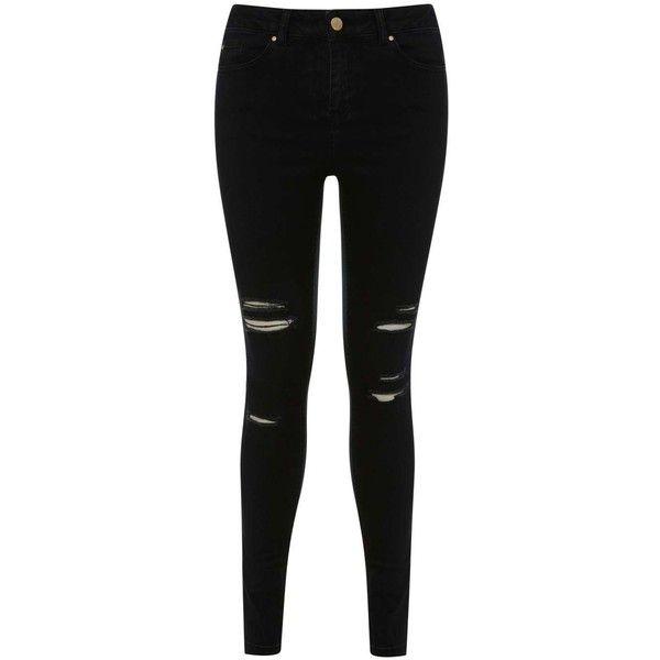 Black ripped skinny jeans miss selfridge