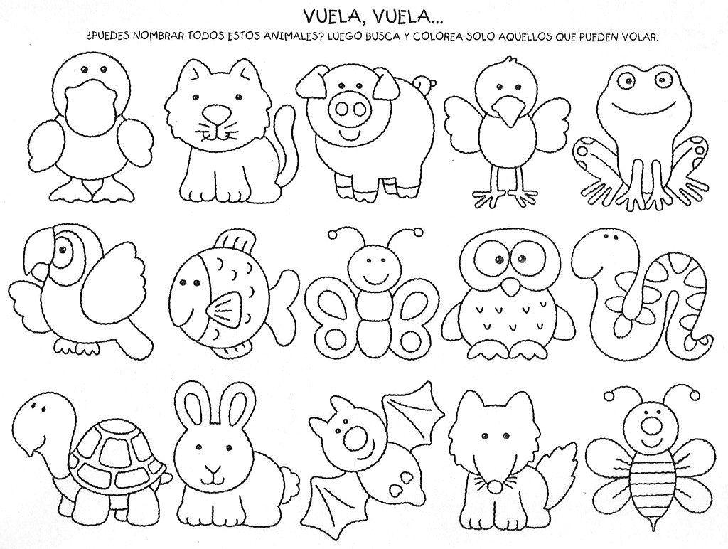 El mundo de los animales en Educación Infantil : ACTIVIDADES DE ...