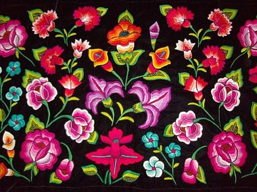 Bordado Istmeno Mexicans Pinterest Mexican Embroidery Folk