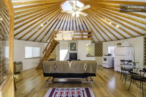 Modern Yurt Cabin You Can Rent in Malibu, California   Malibu ...