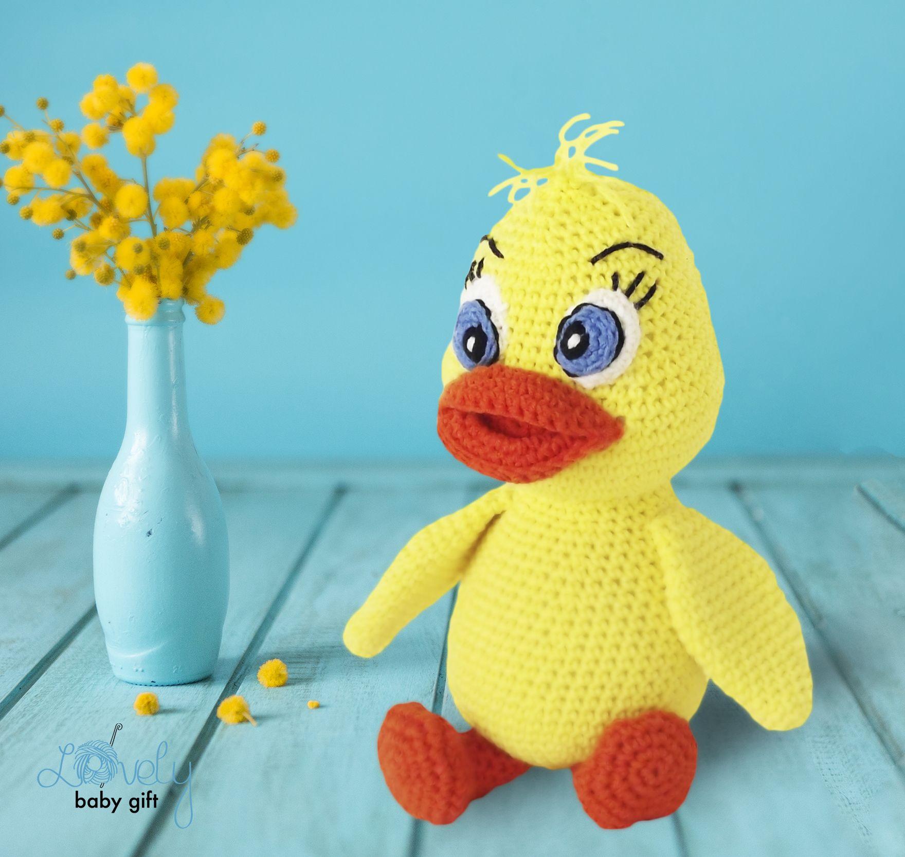 Easter Duck Amigurumi Crochet Pattern Crochet Animal Pattern Pdf