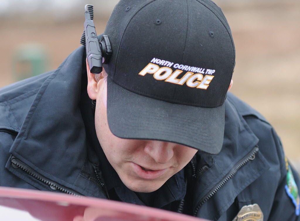 Northcornwall Patrolman With Axon Flex Body Worn Video Camera Mounted To Baseball Cap Http Www Ldnews Com Ann Body Worn Camera Wearable Tech North Cornwall