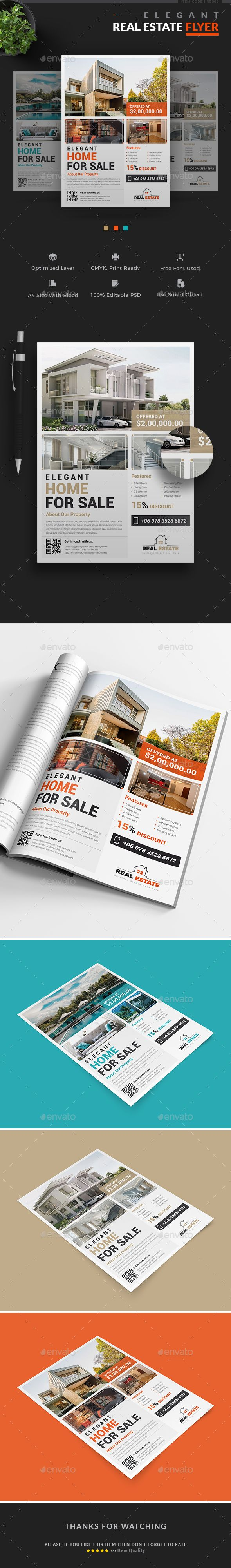 real estate flyer introducing our professional real estate templates