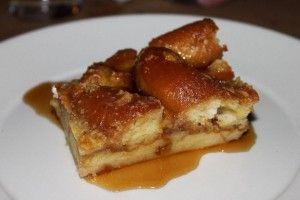 Krispy Kreme bread pudding, Boucherie, New Orleans