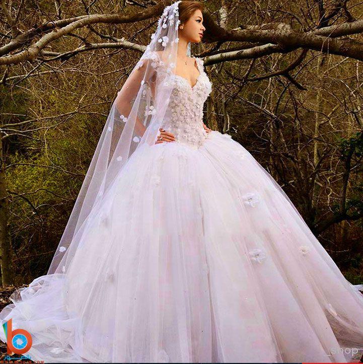 فساتين زفاف حديثة