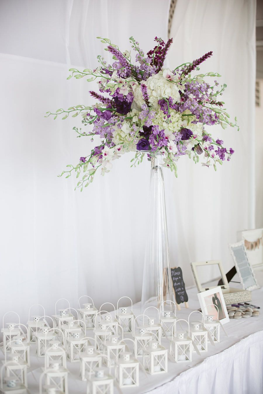 Purple Destination Clearwater Wedding | Beach weddings, Florists and ...