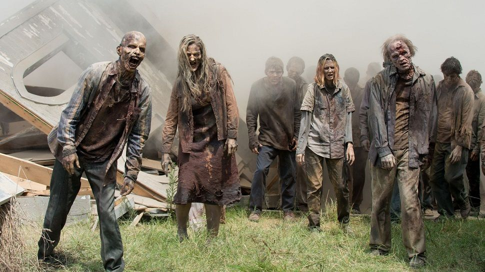 The Walking Dead is like, a really depressing show. How