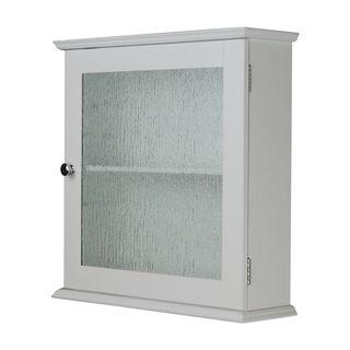 Shop for Highland Glass Door Medicine Cabinet by Elegant Home ...