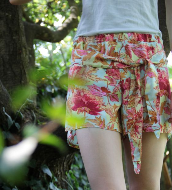 colorful summer shorts - Lila De Lila