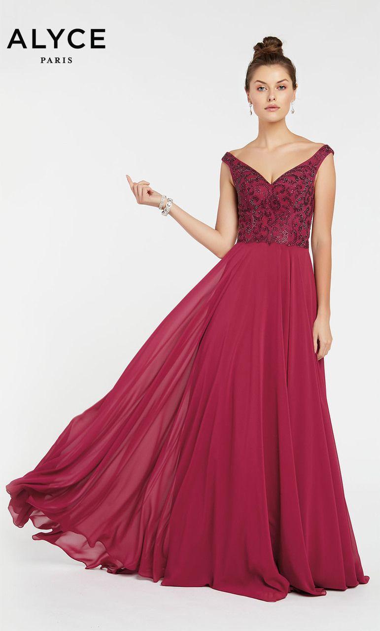 bb102f5fed54 Alyce Paris Style 1385  Raspberry Size 22