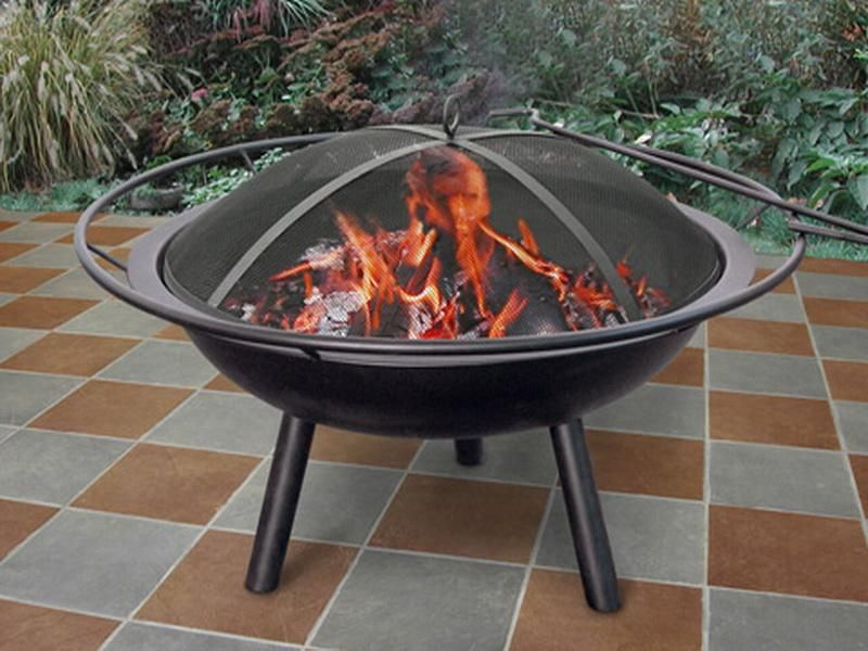 Portable fireplace and Outdoor fire