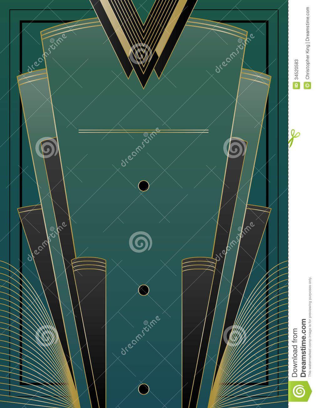 Art Deco Background | Art Deco inspiró diseño del fondo con los ...