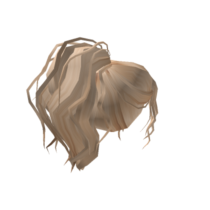 Customize Your Avatar With The Blonde Natural Trim Pony And Millions Of Other Items Mix Match This Hair Accessory W In 2020 Blonde Hair Girl Create An Avatar Blonde