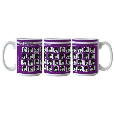 Boelter Brands Beatles Hard Days Night Sublimated Mug Color: