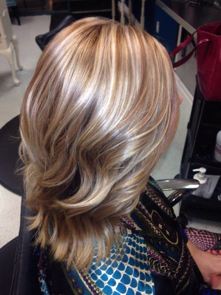 honey lowlights and blonde highlights - Google Search ...