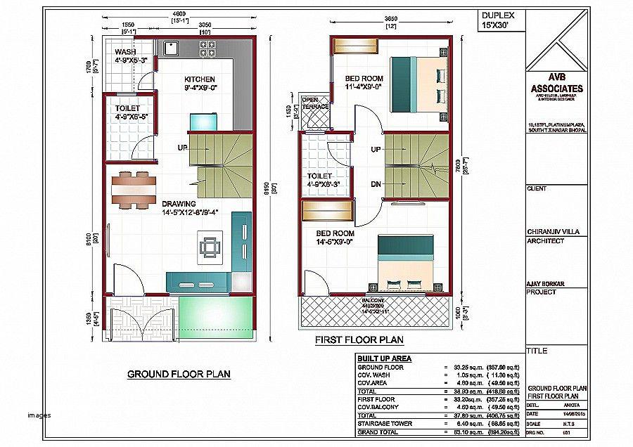 Hasil gambar untuk house plans 50 x 30 south facing plots ...