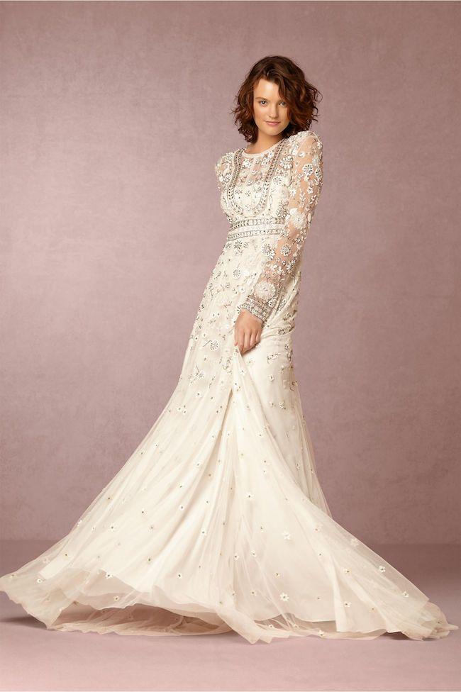 501ead3c9a78 19 Exquisitely Romantic Bohemian Wedding Dresses | Wedding Dresses ...