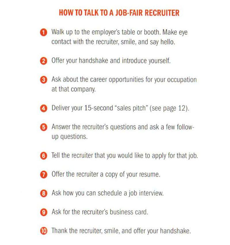 tips for job