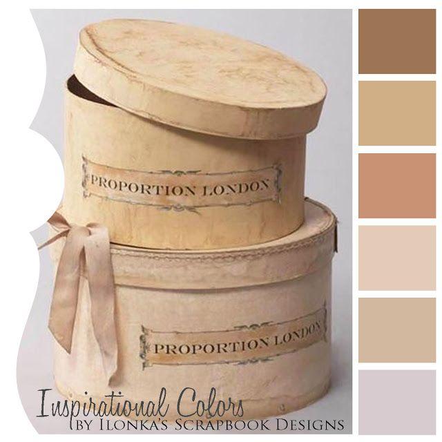 Inspirational Colors by Ilonka's Scrapbook Designs color palette