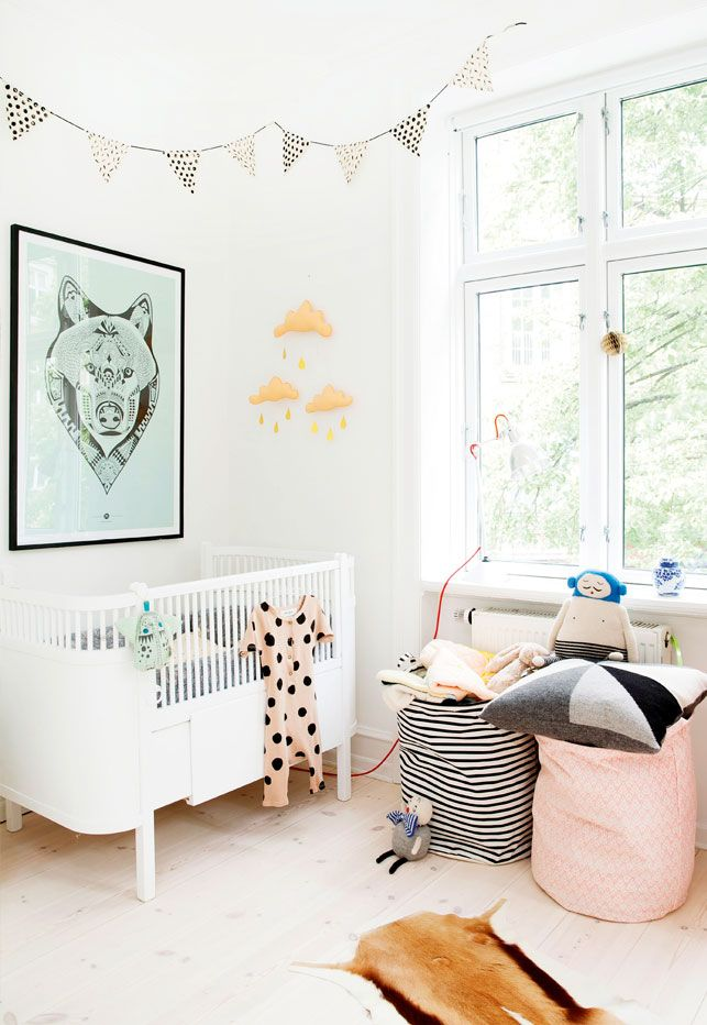 Pourquoi pas du blanc pour la chambre de bébé ? Chambres de bébé
