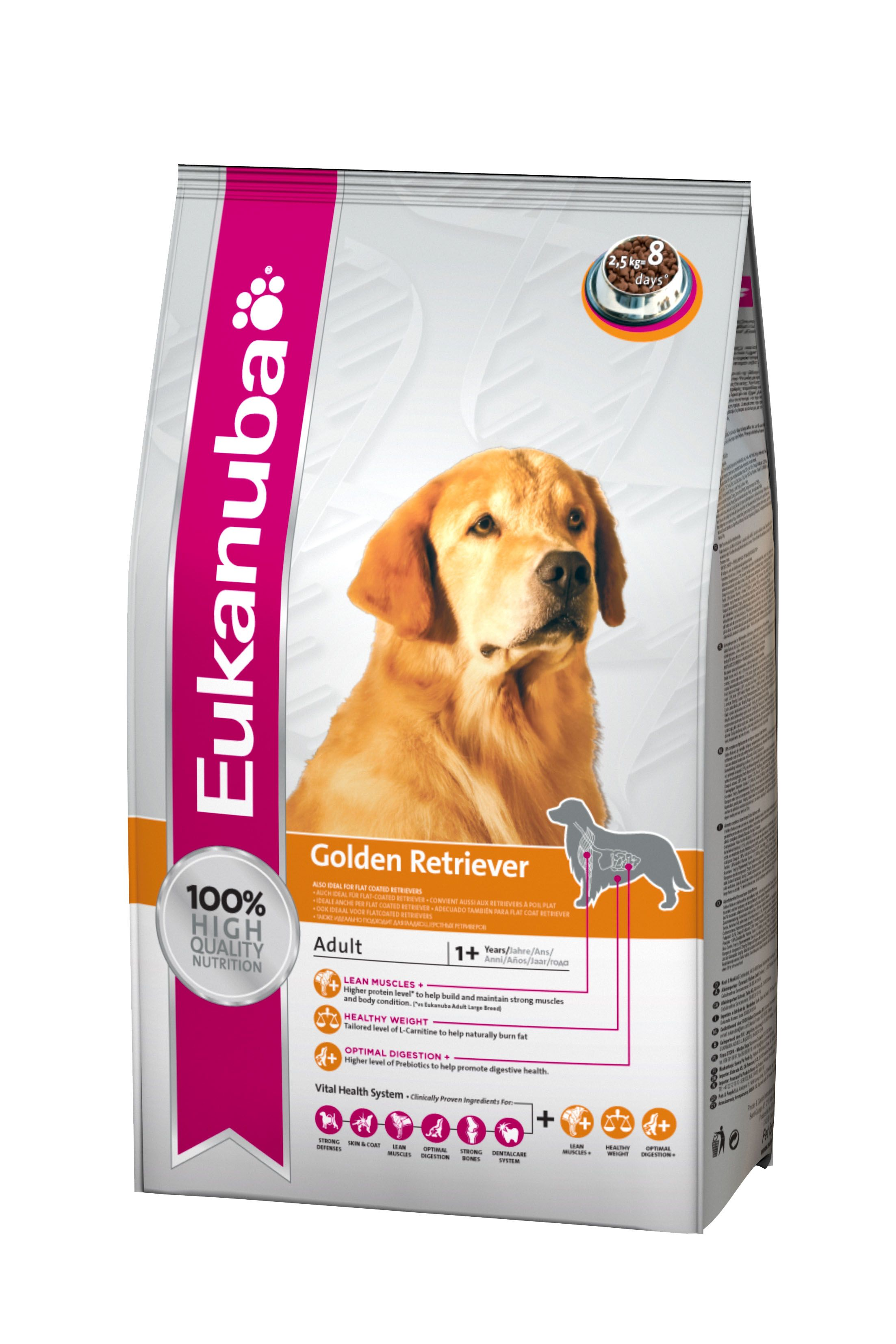 Eukanuba Dog Food Golden Retriever 2 5 Kg Online Http