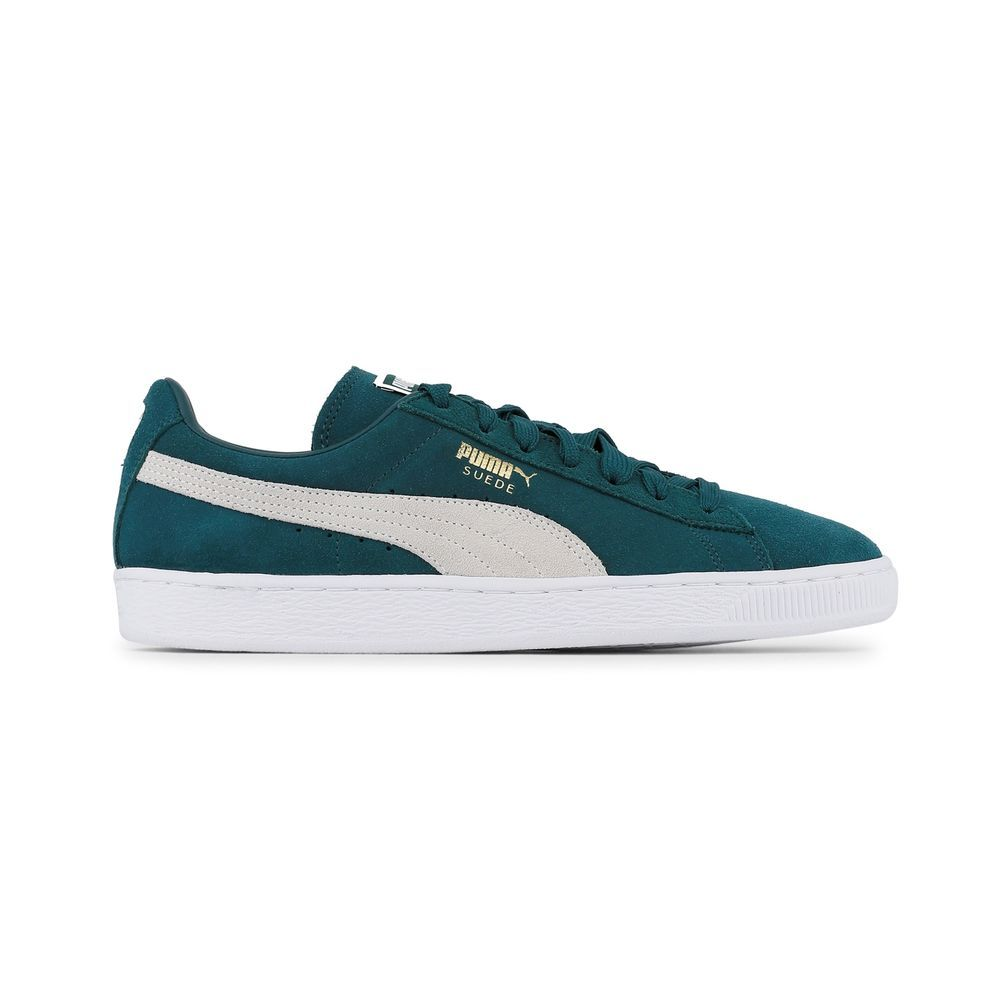 huge selection of d25a7 803cb Puma suede Shoes Sneakers Green darkgreen,white Men ...