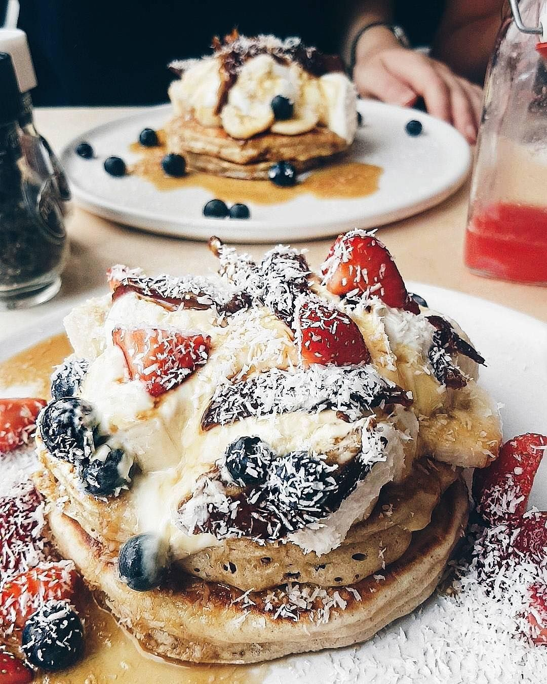 Moak Pancakes On Instagram Dreamy Days Dreamy Pancakes Mookpancakes By Aishakira Savory Pancakes Pancakes Delicious