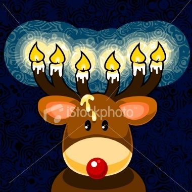 Rudolph shines his lights on iStock