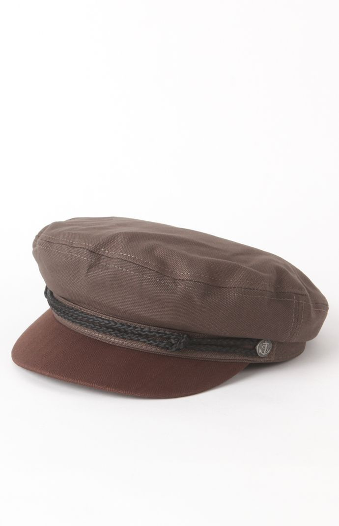 75c751ec Brixton Fiddler Hat - The Fiddler is a cut and Sew fisherman cap with  custom lining