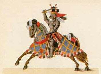 Fotos caballeros medievales edad media