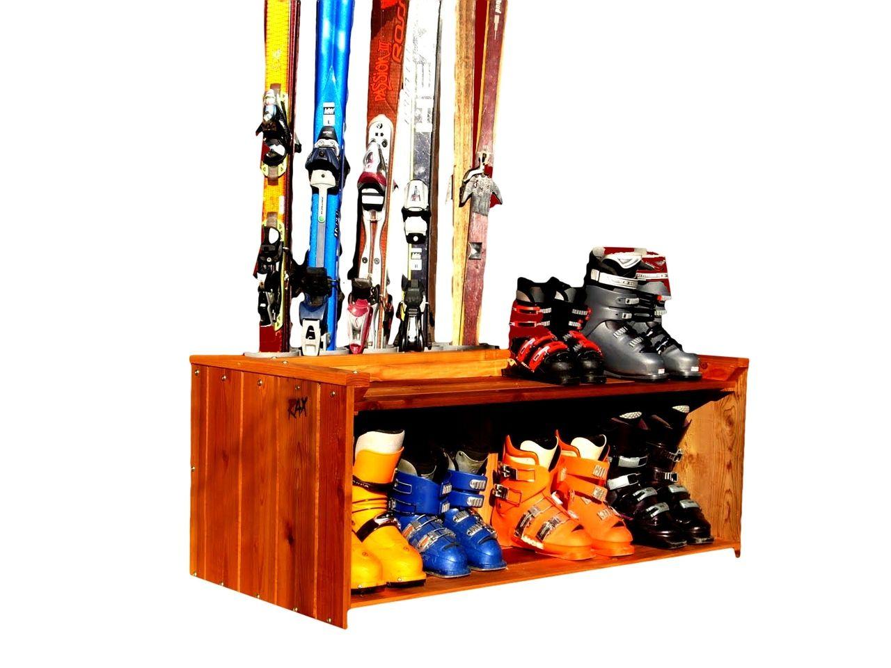 Ski Valet Freestanding And Boot Rack
