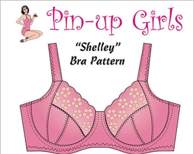The SHELLEY Bra PATTERN A Pin Up Girls Original Pattern   Pinterest ...
