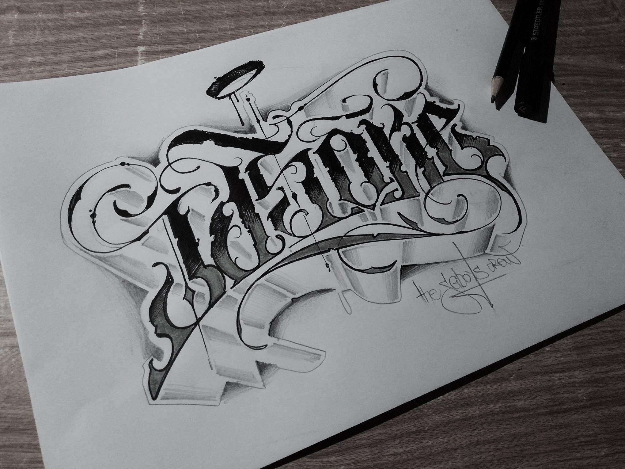 Pin de Esteban en Tipografias Estilos de letras