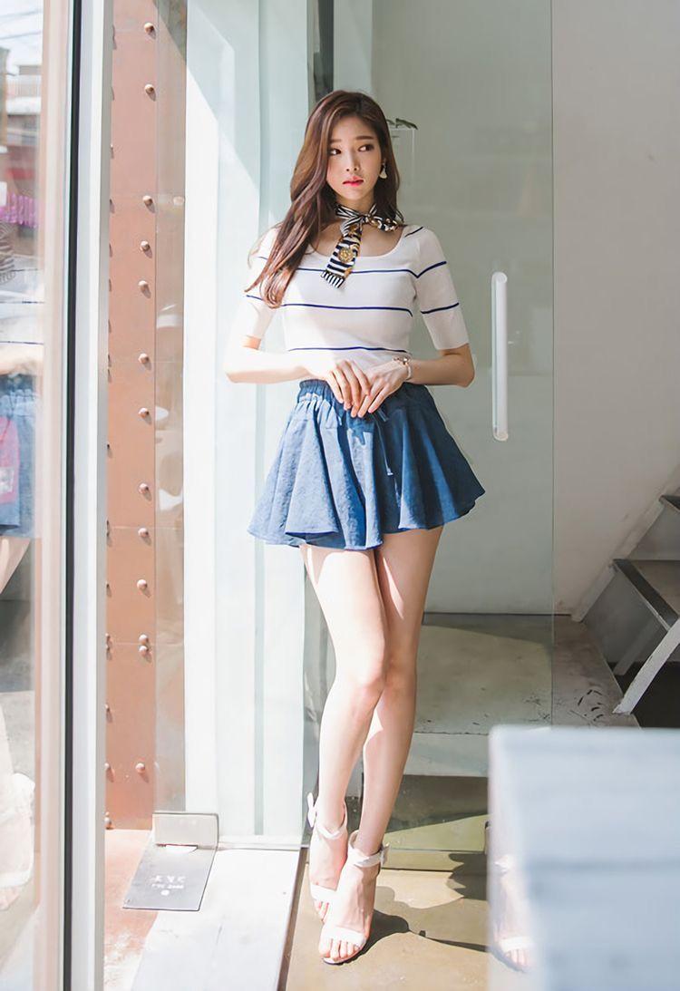 Asian girls skirts — photo 3